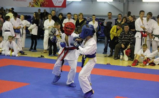 В Туле прошел Кубок области по каратэ