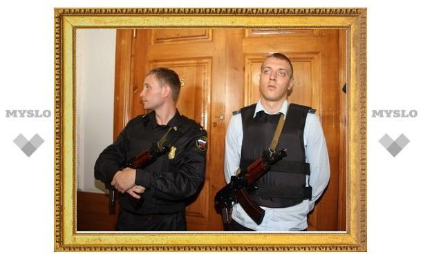 Житель Тульской области пытался пронести в суд оружие