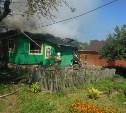 В Алексине пожар в жилом доме тушили 12 человек