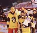 Детдомовец из Чернского района сыграл в хоккей на Красной площади