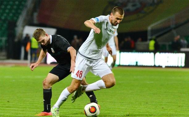 «Арсенал» проиграл «Тюмени» со счетом 1:2