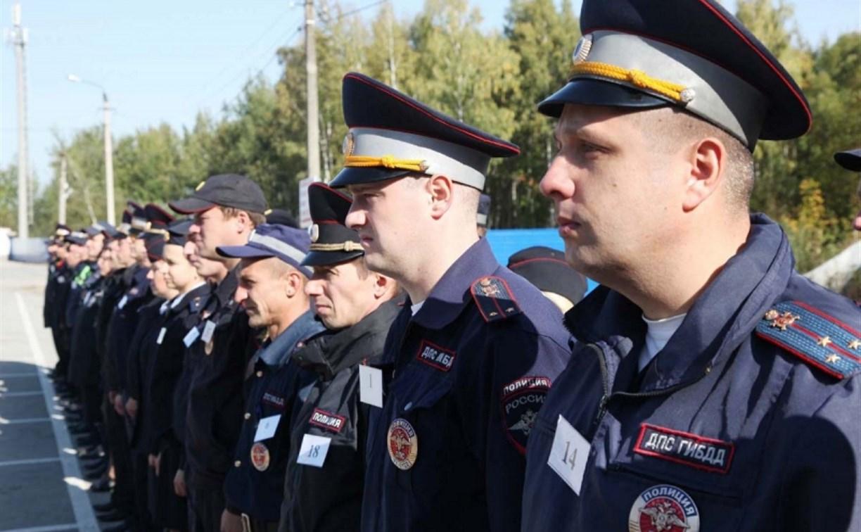 В Туле провели конкурс водительского мастерства среди полицейских
