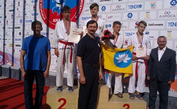 Шесть спортсменов из Тульской области завоевали медали по рукопашному бою