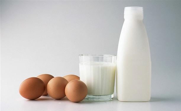 В регионе снизился объем производства молока и яиц