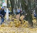В общегородском субботнике в преддверии эстафеты олимпийского огня приняли участие свыше 1300 человек