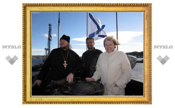 Главу Новомосковска посвятили в подводники