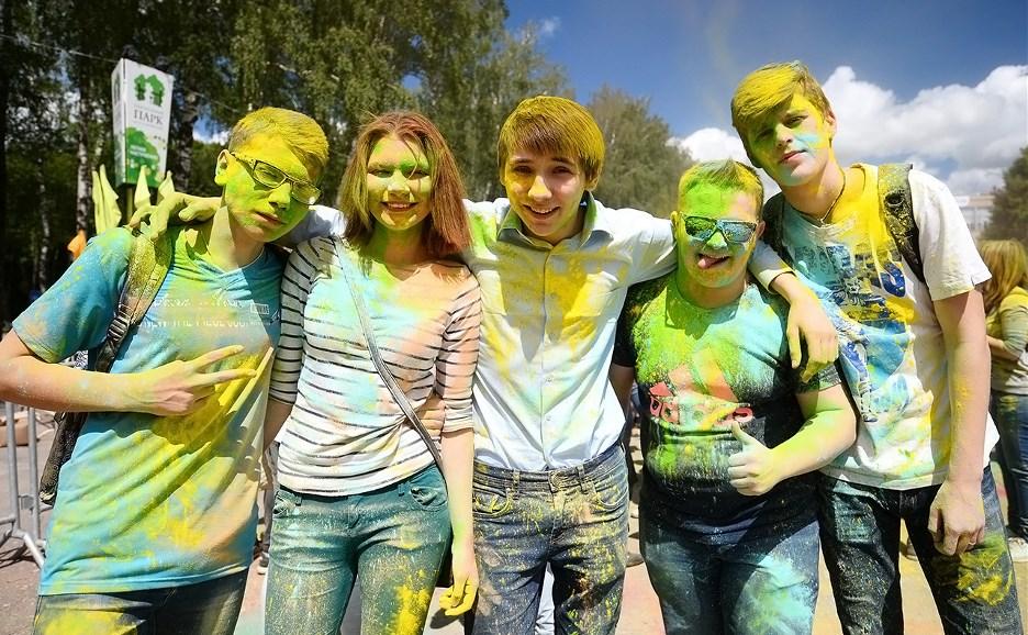 Фестиваль красок ColorFest: краски смоются, эмоции – никогда!