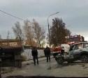 В Туле грузовик смял «Ниву»: погиб мужчина