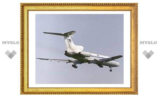 Ту-154 совершил аварийную посадку в Красноярске