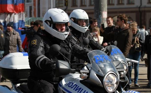За неделю в Тульской области задержали 39 мотоциклистов-нарушителей