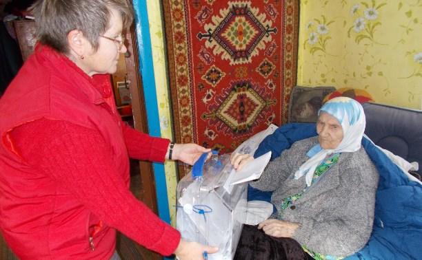 В Куркино проголосовала старейшая в районе избирательница