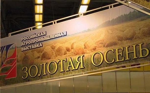Тульскую область наградили на выставке «Золотая осень-2013»