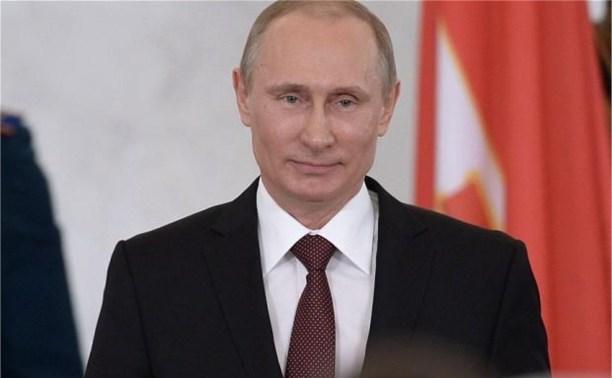 Владимир Путин наградил тулячку за безупречную службу