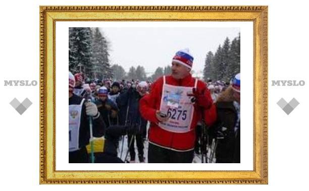 """В Туле стартовала """"Лыжня России"""""""