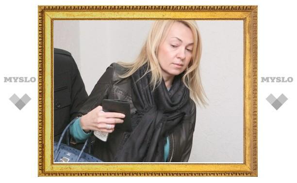 Яна Рудковская на процессе в Туле свидетельствует за отца ребенка