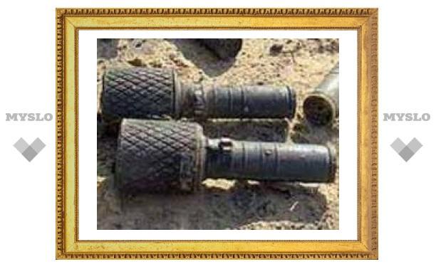 На чердаке дома под Тулой обнаружен склад боеприпасов
