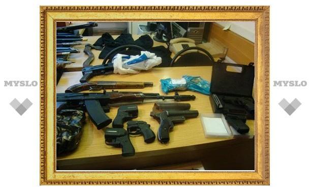 После терактов в Москве тульские милиционеры нашли взрывное устройство и оружие