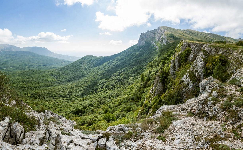 В крымских горах спасли заблудившихся туристов из Тулы