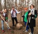 В Комсомольском парке высадили «Лес Победы»