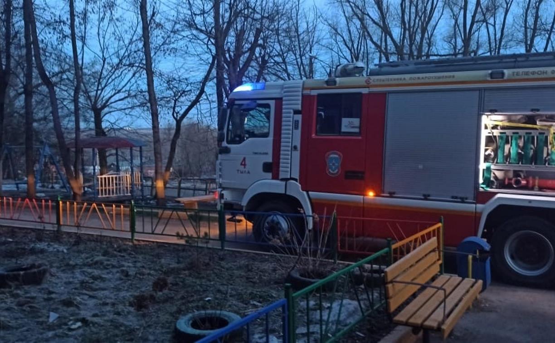 В Туле на пожаре на ул. Седова погиб мужчина