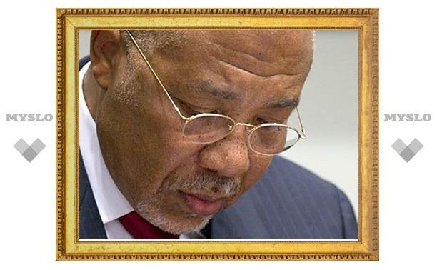 Экс-президента Либерии признали военным преступником