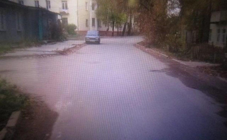 В Туле на улице Макса Смирнова неустановленный автомобиль сбил пешехода и скрылся