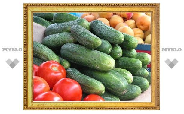 Немецкие и испанские овощи ввозить в Тулу не будут