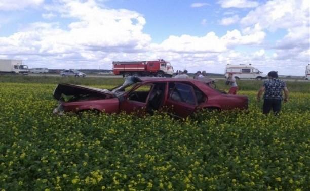 Водитель «Мерседеса» погиб в результате ДТП на автодороге «Тула-Новомосковск»