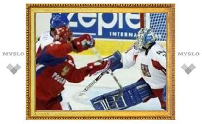 Российские хоккеисты обыграли чехов на ЧМ-2008