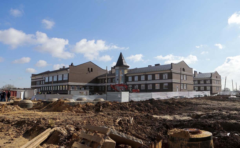 Строительство школы в ЖК «Времена года» завершат к середине лета