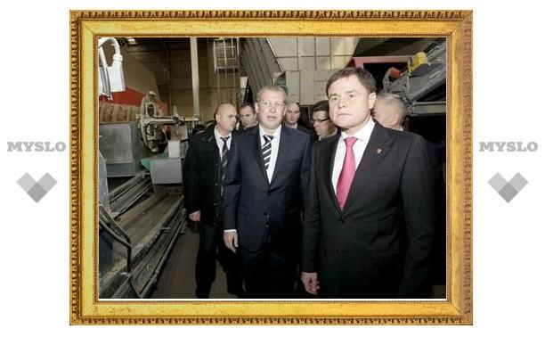 Владимир Груздев посетил Ленинский район