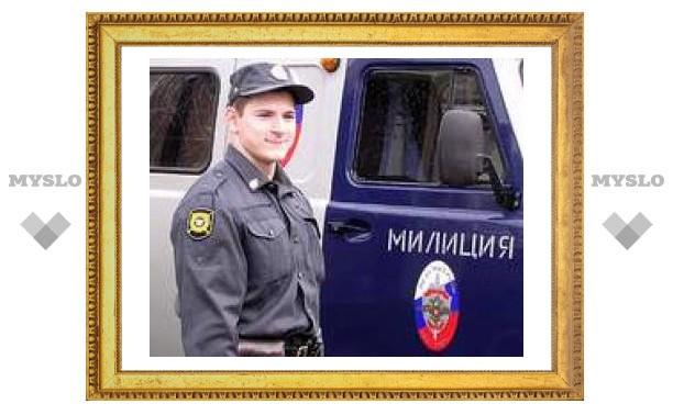 Тульские милиционеры получили новые авто