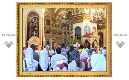 Туляки отмечают перенесение Нерукотворного Образа Иисуса Христа