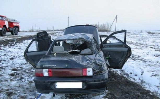 В аварии в Плавском районе погибла женщина