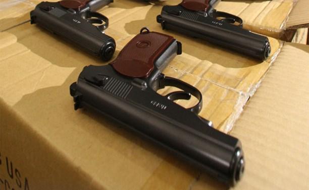 Туляка посадили на три года за контрабанду оружия