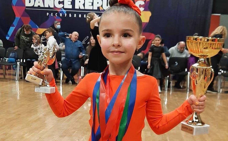 Тулячка Варвара Тимофеева завоевала Суперкубок России по спортивным бальным танцам