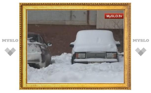 Туляки попали в снежный плен