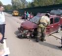 В Тульской области в массовом ДТП пострадали шесть человек