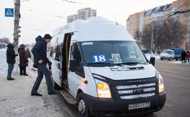 Тульские частные перевозчики просят помощи у главы администрации города