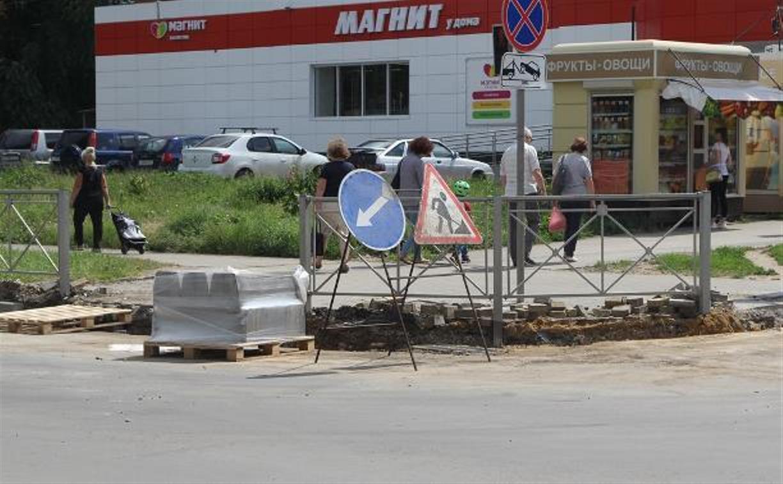 В Туле на улице Демонстрации очередные ограничения движения