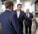 Алексей Дюмин посетил Ефремовский завод синтетического каучука