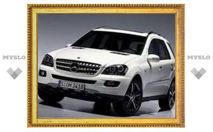 Mercedes выпустит особую серию M-Class
