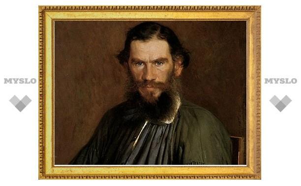 Лев Толстой засветился на пачке с чаем