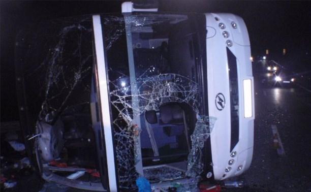 Причиной ДТП с участием автобуса «Москва-Ереван» могла стать техническая неисправность