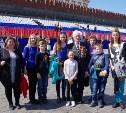 Тульская делегация побывала на генеральной репетиции парада Победы в Москве