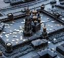 В бронзовый Тульский кремль принято бросать монетки