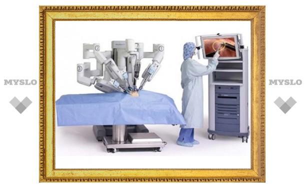 Российские хирурги впервые выполнили аорто-коронарное шунтирование с помощью робота