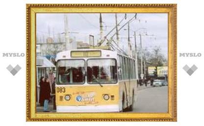 В Туле соревнуются водители троллейбусов