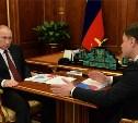 Владимир Путин обсудил с Владимиром Груздевым вопросы экономического развития