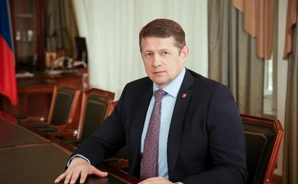 Официально: Евгений Авилов уходит с поста главы администрации Тулы